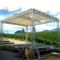 spigot aluminum stage box truss for DJ equipment thumbnail image