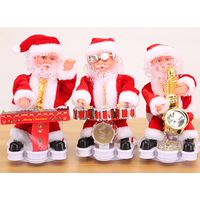 2017 wholesale musical moving christmas toy figure