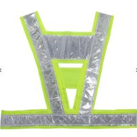 Reflective Fluorescent Vest Driving School Construction Traffic Safty Warning Reflective Vest thumbnail image