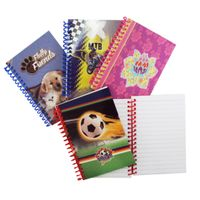 Full color print spiral notebook
