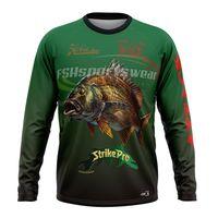 Wholesale long sleeve fishing shirt sublimation print