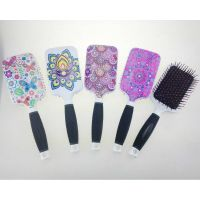 Paddle Hair Brush with heat transfer printing