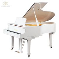 Competitive price Shanghai Artmann brand new GP152 white grand piano thumbnail image