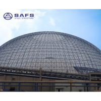 Light weight and strong stability space frame prefab modular scost-effective coal storage system des
