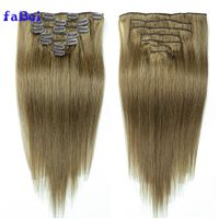 Remy human clip in hair extensions,wholesale clip-in human hair extensions,cheap clip hair thumbnail image