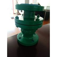 Rubber lined check valve