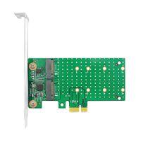 Linkreal Dual PCIe x1 to M.2 SATA RAID Controller Card thumbnail image