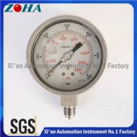 316L Bourdon Tube Wika Pressure Gauges Big Quantity OEM