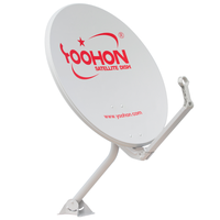 55cm KU band offset satellite dish antenna satellite dish outdoor type
