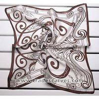 Silk square scarves crepe satin plain Small scarves 017