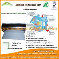 Thermal insulation aluminum foil backed fabric