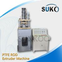 Best selling Teflon PTFE rod extruder machine for extruded ptfe rod