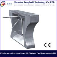stainless steel high Turnstile Tripod Turnstile with RFID Reader