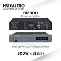 Professional 300W x 2 Channels Power amplifier HM300 thumbnail image