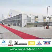 official trade show tent with different walls for sale thumbnail image