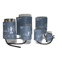 Reusable nibp cuff,for patient monitor, single/dual tube with material of PU leather,TPU bladder