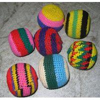 Footbag, Jugglingballs,