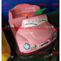 Colorful cartoon design electric bumper car for amusement park