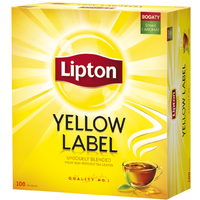 Lipton Tea Yellow label t100 Lipton 20pcs Forest fruits pyramids