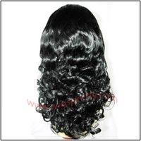 human hair full lace wigs big body wave