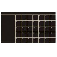 Office Schedule Vinyl Blackboard Wall sticker thumbnail image