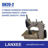 Lanxee GN20-2 Single Needle Double Thread Overedging Sewing Machine thumbnail image