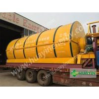 hauyin hot sale rubber processing to oil machine