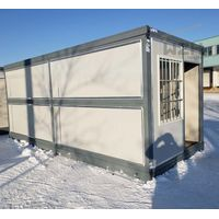 New Design China Flat Pack Container House Prefab Cabin For Office thumbnail image