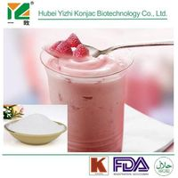 Organic natural hot-sale konjac glucomannan powder in dairy and beverage