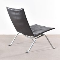 living room furniture poul kjaerholm pk22 chair by Poul Kjaerholm