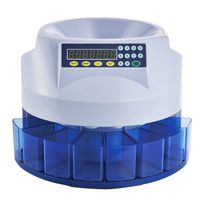 Automatic Fast Sort Mix Coins Counter high speed ,accurately 100% bank coin counter for any currency