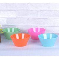 solid color melamine bowl thumbnail image