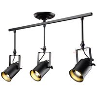 Industrial ceiling led track spot light changeable e27 bulb