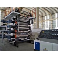 PVC plastic vinyl floor production line / Stone PVC floor extrusion machinery thumbnail image