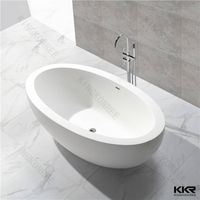 Factory supplier solid surface freestanding bathtub wholesale