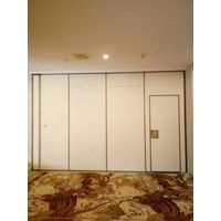 Aluminium Track Sliding Folding Door Restaurant Operable Partition Wall