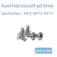 Cross round head screw with self cushion round head screw m3 M4 M5