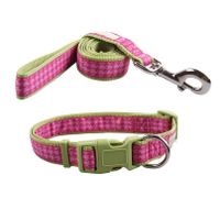 custom colorful jacquard nylon dog leash