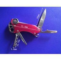 Multifunctional outdoor Tool with knife,Compass,Screwdriver, Opener for Out Door Activities