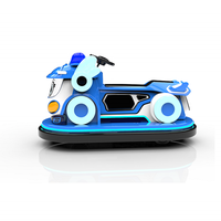 24V police car mobilization battery car parent-child bumper car children riding bicycle thumbnail image