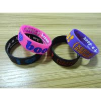 custom silicone bracelet, high quality silicone rubber