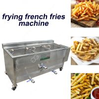 Chicken Fryer Machine Commercial/Snacks Frying Machine Price thumbnail image