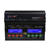 H150 AC/DC DUO Multi Charger With Built-in Power Supplyfor Lilon LiPo LiFe LiHV Nimh Nicd Battery