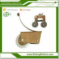 JL-03 Aluminum Profile Frame Wardrobe Sliding Door Cabinet Roller