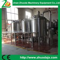 Factory price 1000L beer making equipment for sale from China