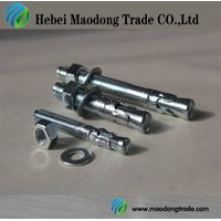 galvanized M10 wedge anchor/through bolt