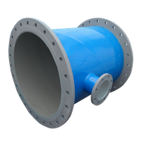 Polyethylene 3layer Coated steel fittings - Mitered Gate Valve bypass