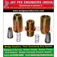 Post Tensioning anchor plates Manufacturers Suppliers Exporters in India