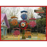 Yomone China supply newest amusement park rides mini ferris wheel for sale thumbnail image