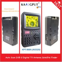 3.5 Inch handheld digital satellite finder KPT968A